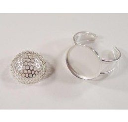 base regolabile per anello da decorare