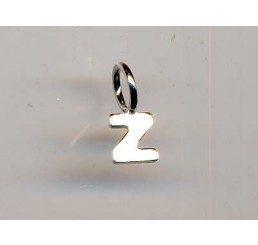 pendente letterina z mm. 10 - ag 925 - conf 1 pz