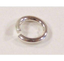 maglina aperta mm. 6 - ag 925 - conf 10 pz