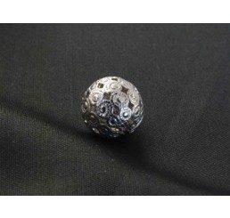 pallina traforata mm. 12 ag 925 - conf 2 pz