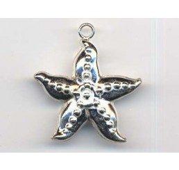 pendente  stella marina - ag 925 - conf 1 pz