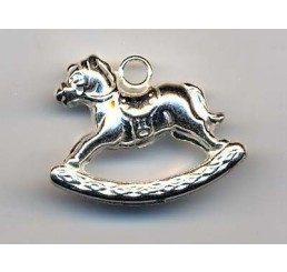 pendente cavallo a dondolo - ag 925 - conf 1 pz