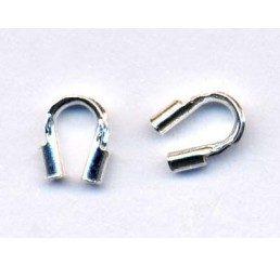 salvacavetto in argento mm. 4,4x 3,5 - conf. - conf 6 pz