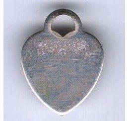 pendente a forma di cuore mm. 26