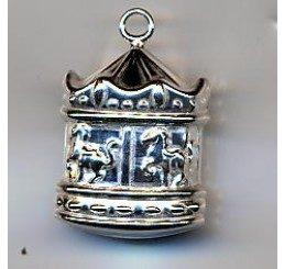 pendente a forma di giostra in argento 925 - conf 1 pz