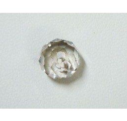 swarovski - briolette mm. 6 - crystal ssha