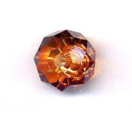 swarovski - briolette mm. 12 - crystal cooper
