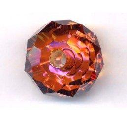 swarovski - briolette mm. 18 - crystal cooper