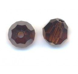 swarovski - perlina mocca mm. 6