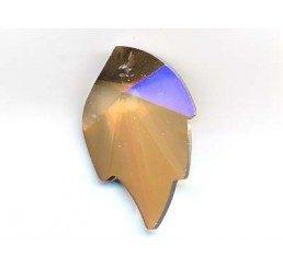 swarovski - foglia crystal gsha mm. 26 x 16