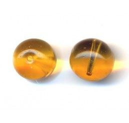 pallina mm. 8 gialla
