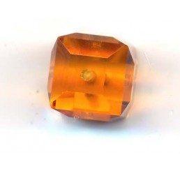 swarovski - cubo topaz mm. 8