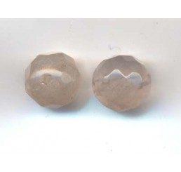 pietre: quarzo rosa 8 mm