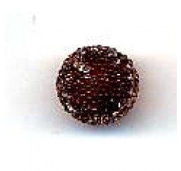 candy bead 10 mm - marrone