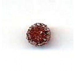 candy bead 6,5 mm - marrone