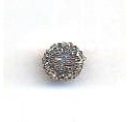 candy bead 6,5 mm - grigio