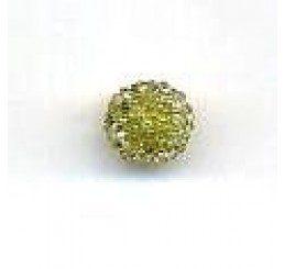 candy bead 6,5 mm - verde oliva