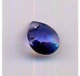 swarovski - pendente goccia 10x7,5 mm - tanzanite