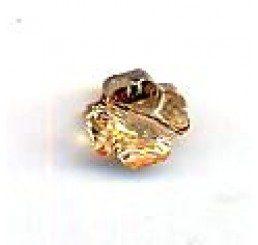 quadrifoglio swarovski crystal golden shadow mm. 8