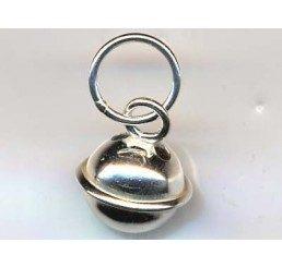 pendente forma di campanello - ag dorato - conf 1 pz