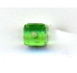 swarovski - cubo peridot mm. 4