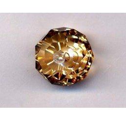 swarovski - briolette mm. 12 - crystal gsha