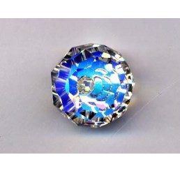 swarovski - briolette mm. 12 - crystal ab