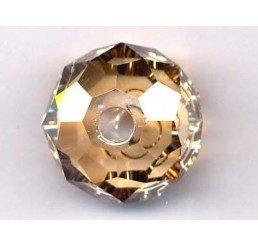 swarovski - briolette mm. 18 - crystal gsha