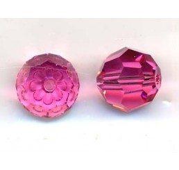 swarovski - perlina rose mm. 10