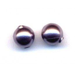 perla swarovski mm. 4 - mauve