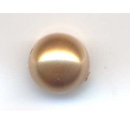 perla swarovski mm.8 - bright gold