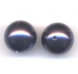 perla swarovski mm. 12 - dark purple