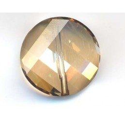 twist bead mm. 18 - crystal gsha