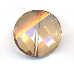 twist bead mm . 22 - crystal gsha