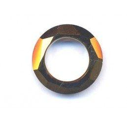 swarovski - cosmic ring mm. 14 crystal dorado