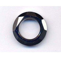 swarovski - cosmic ring mm. 14 crystal bermuda blu