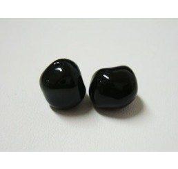 swarovski - perla irregolare mm. 10 mystic black