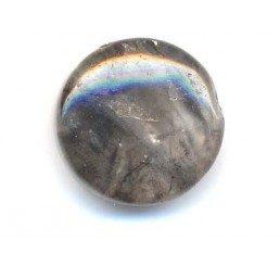 pietre: quarzo grigio mm 10