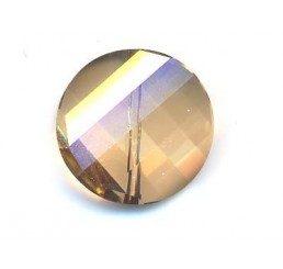twist  bead  mm. 14 - crystal gsha