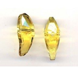 swarovski - aquiline bead mm. 28 - light topaz