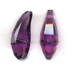 swarovski - aquiline bead mm. 28 - amethyst
