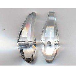 swarovski - aquiline bead mm. 28 - crystal