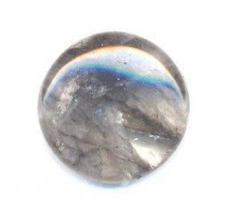 pietre: quarzo grigio tondo mm 18