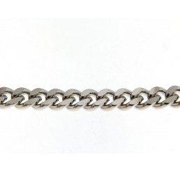 Catena grumetta diamantata in bronzo mm. 9