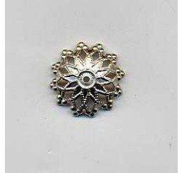 Coppetta traforata in bronzo mm. 13 - Conf. 4 pz