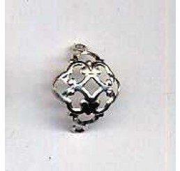 Coppetta in bronzo per perle mm. 12 - 4 pz