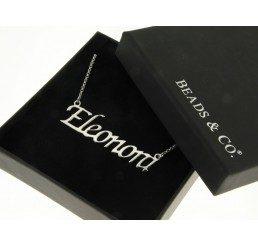 collana con nome - eleonora