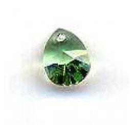 swarovski - pendente goccia 12x9 mm - Peridot