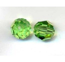 swarovski - perlina peridot mm. 6