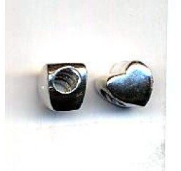 distanziatore per caucciù mm. 4 a forma di cuore